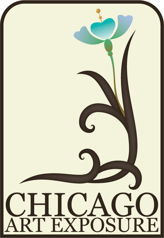 Art nouveau logo for her art exposure company this is the final design