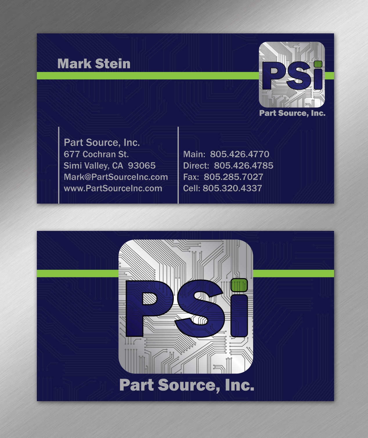 Part Source, Inc – Business Cards – Nashville Graphic Designer ...