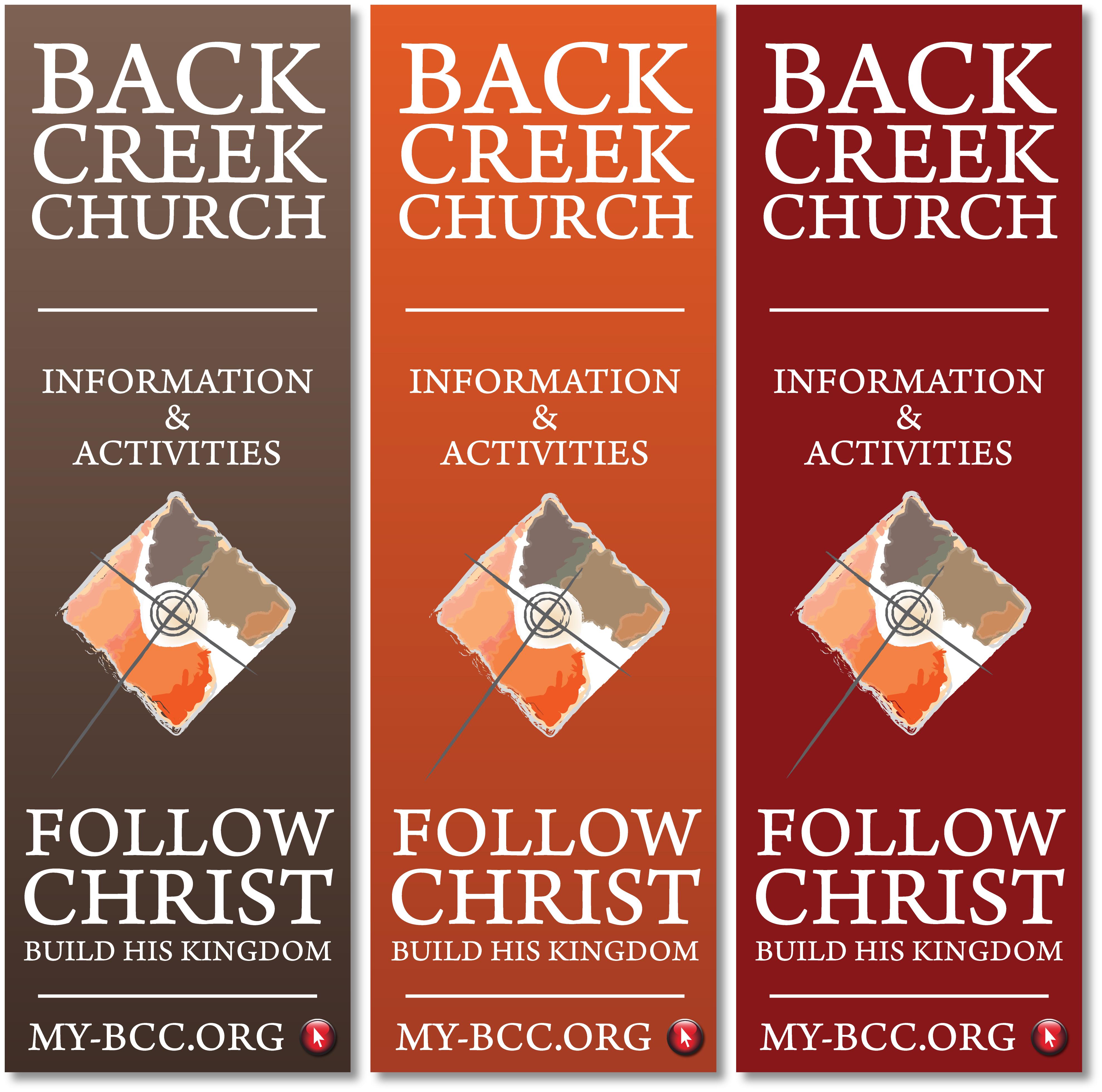 back creek church – banner  nashville graphic designer  franklin