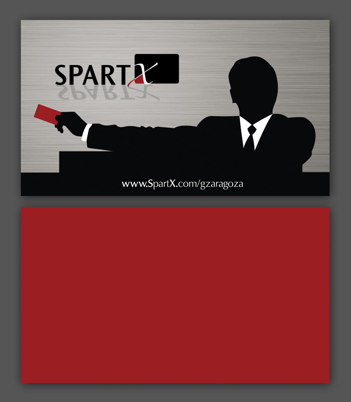 SpartX – Business Card – Nashville Graphic Designer | Franklin ...